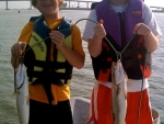 Nash and Clay Swift gettin' the trout on!